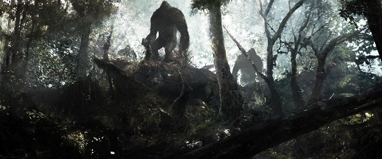 Bigfoot reunion sketch
