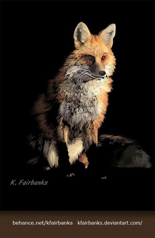 K fairbanks fox by k fairbanks