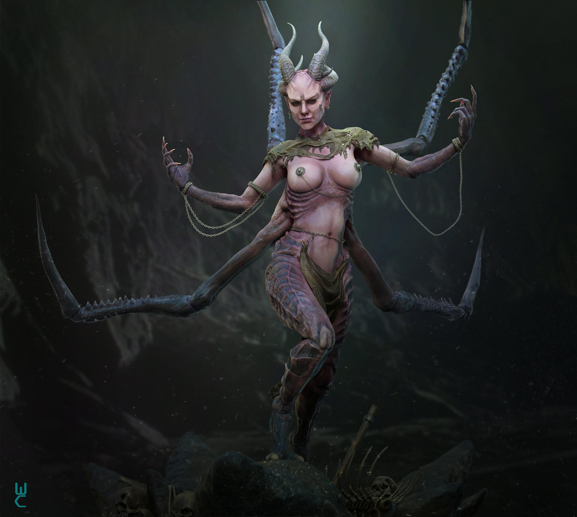 Lust demon nude adult clip