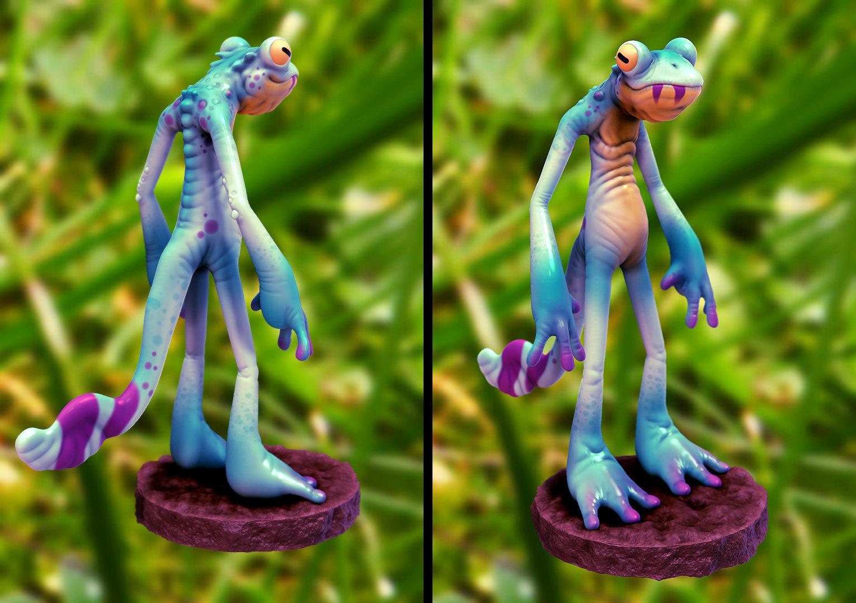 Mike robinson lizard done