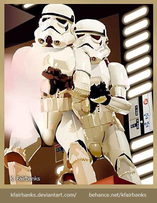 K fairbanks stormtroopersdeathstar by k fairbanks