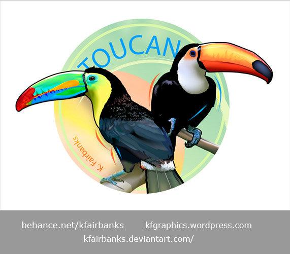K fairbanks toucans by k fairbanks