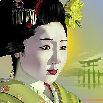 K fairbanks geisha by k fairbanks