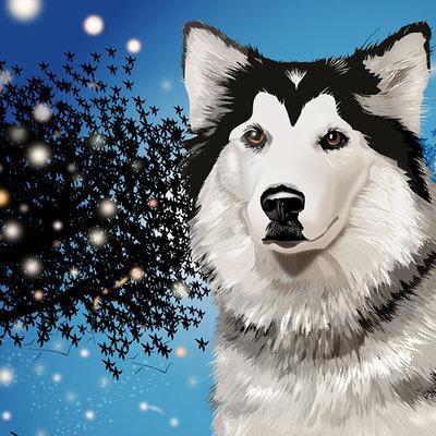 K fairbanks dog by k fairbanks