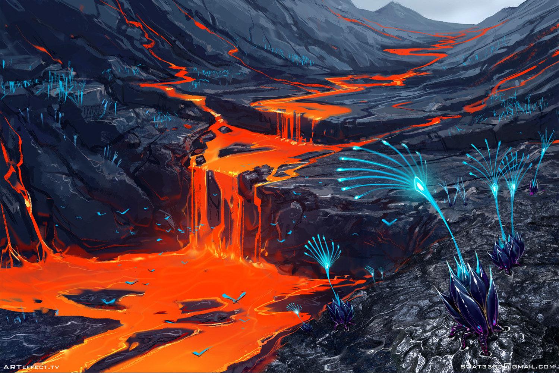 Sviatoslav gerasimchuk volcanic planet