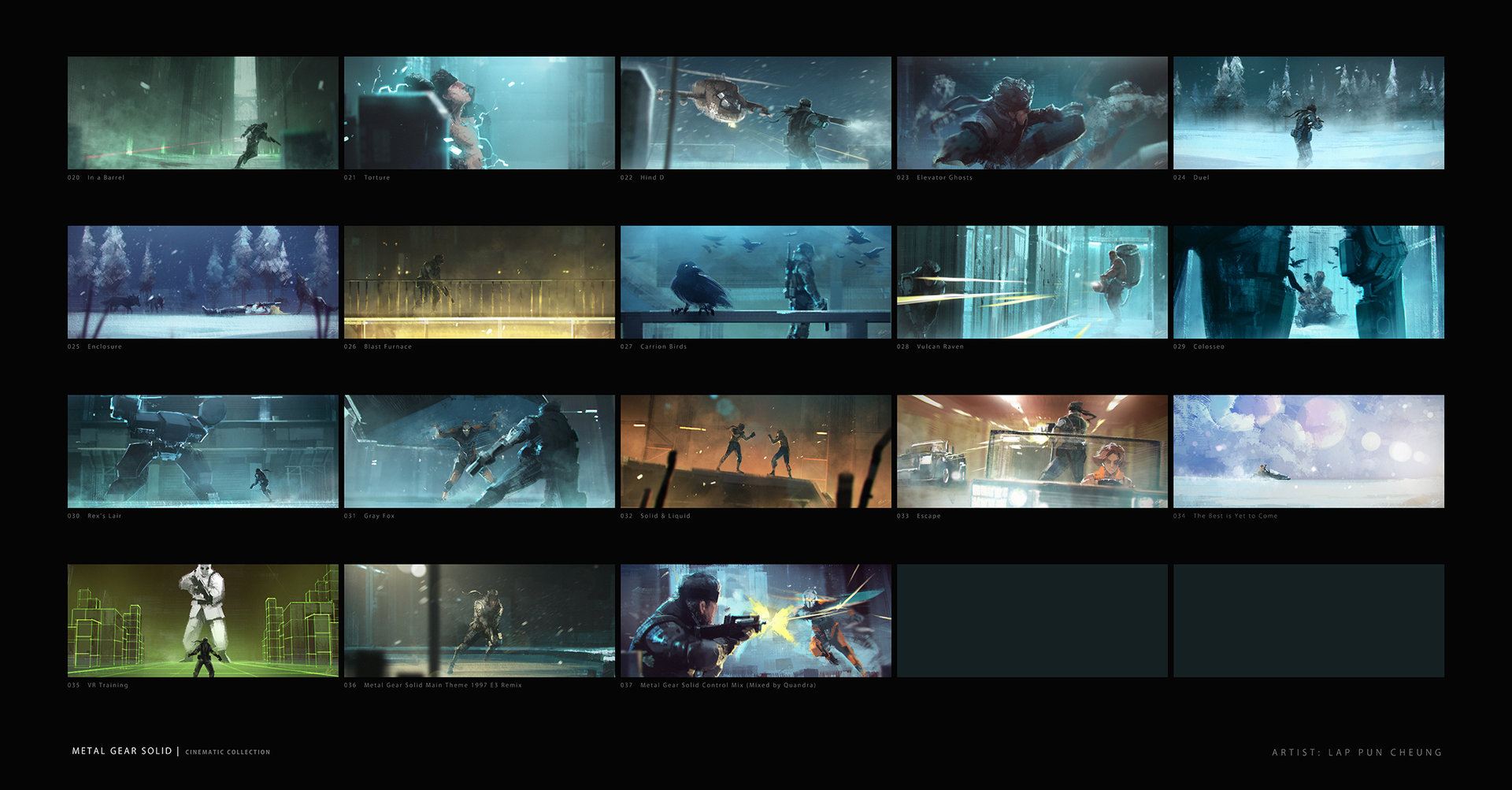 Lap pun cheung metal gear solid collection 002 online
