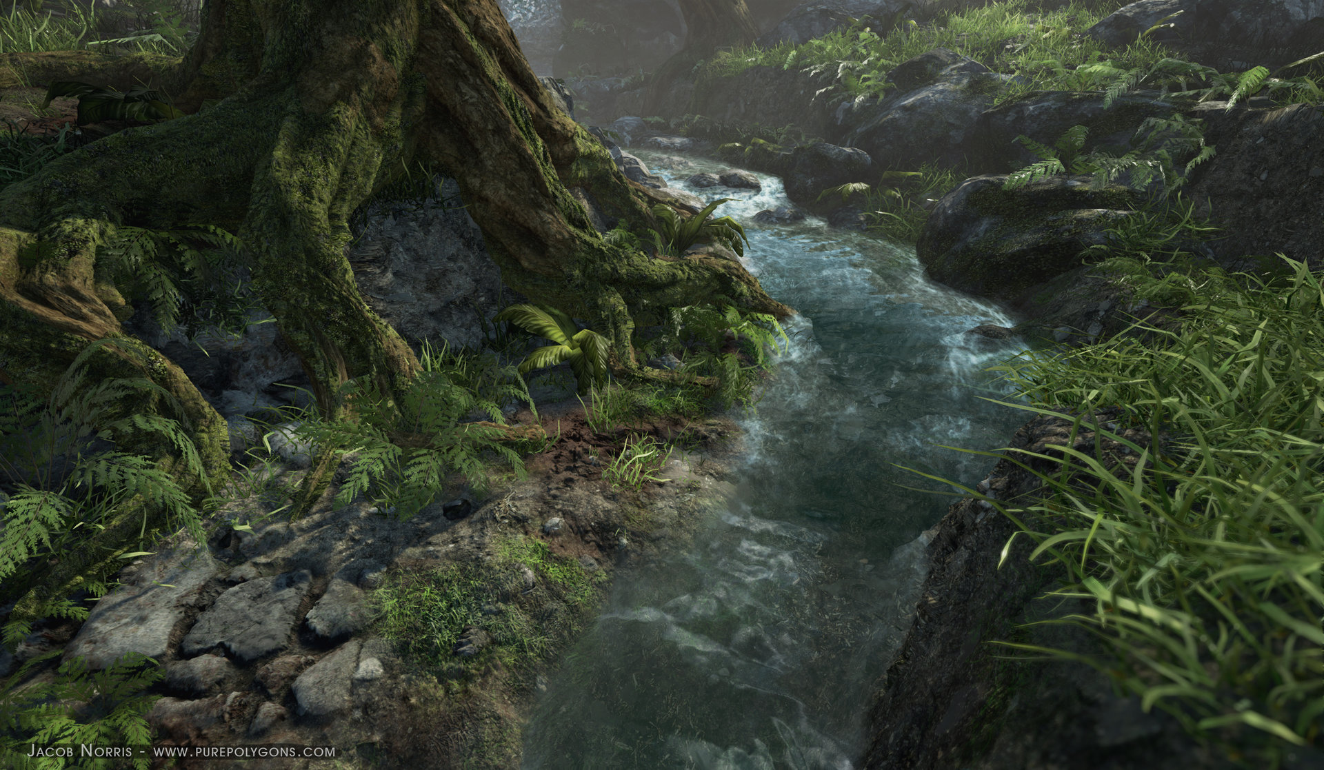 UE4] - Procedural Nature Environment — polycount