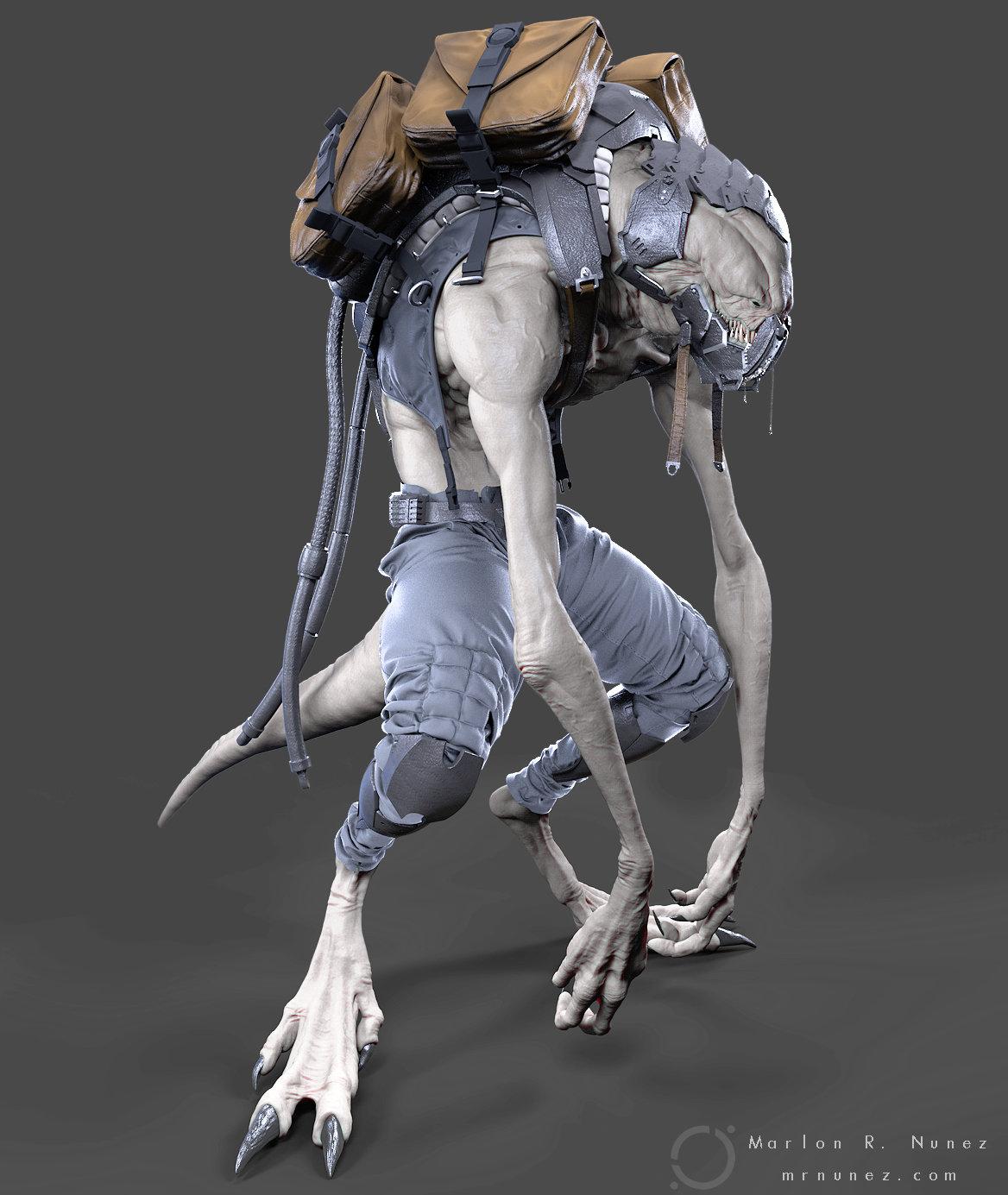 Marlon r nunez sculpt keyshot main