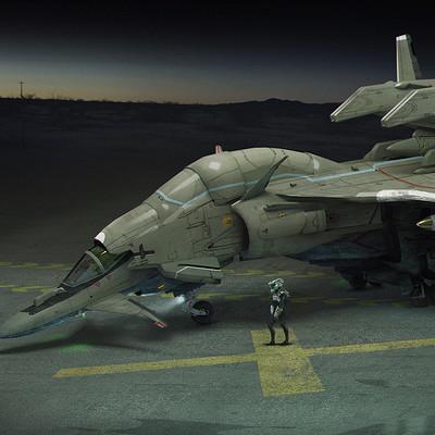 Brad wright jet fighter concept 01