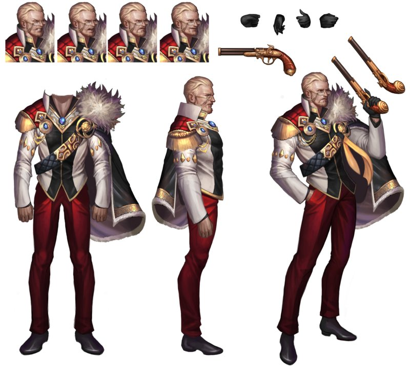 Character Concept Design Process : Ju hyeon jeon g