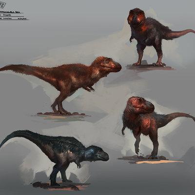 Raph lomotan t rex skins