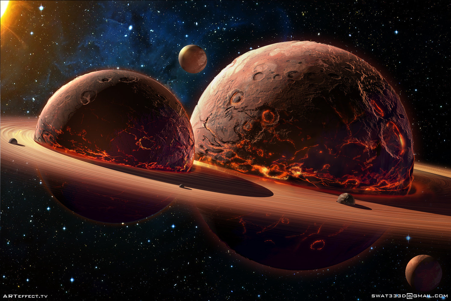 Twin Planets by Sviatoslav Ger...