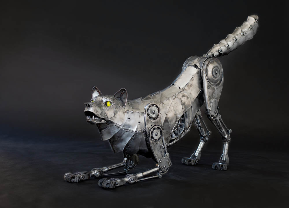 Andrew chase mechanical metal wolf playing