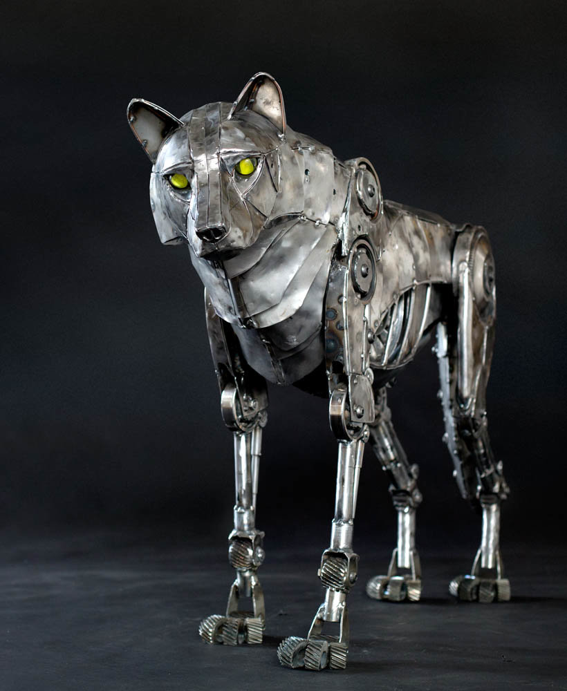 Andrew chase mechanical metal wolf 1