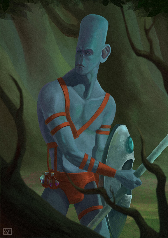 Josh merrick cazador alien2