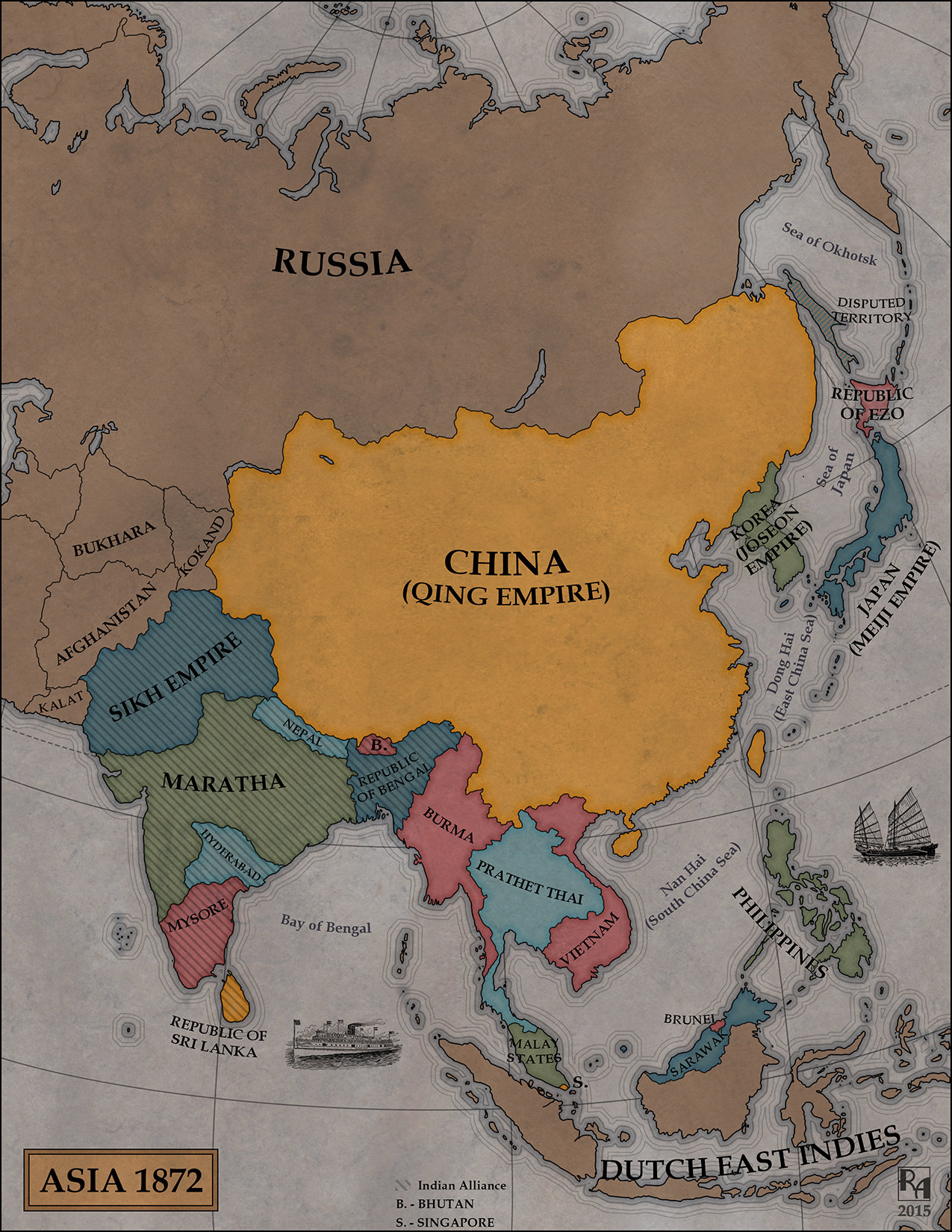 Robert altbauer steamscapes asia map 2