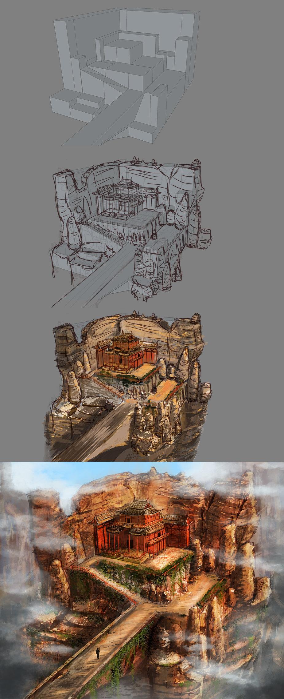 Tomasz smolka env design templeruins process