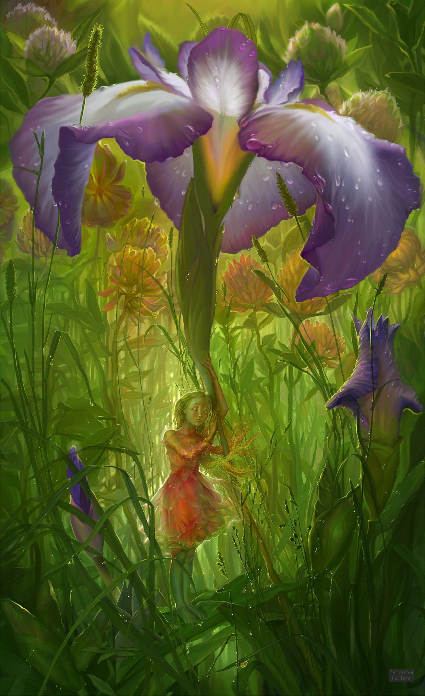 Banque d'Image Collective Avataresque Lyubov-fedorova-iris-arts
