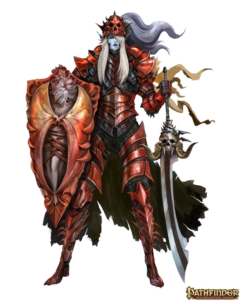 Alexandre chaudret pathfinder characters drow folio01 g