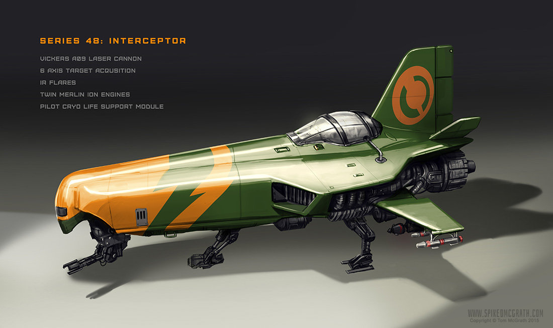 Tom mcgrath 48 interceptor