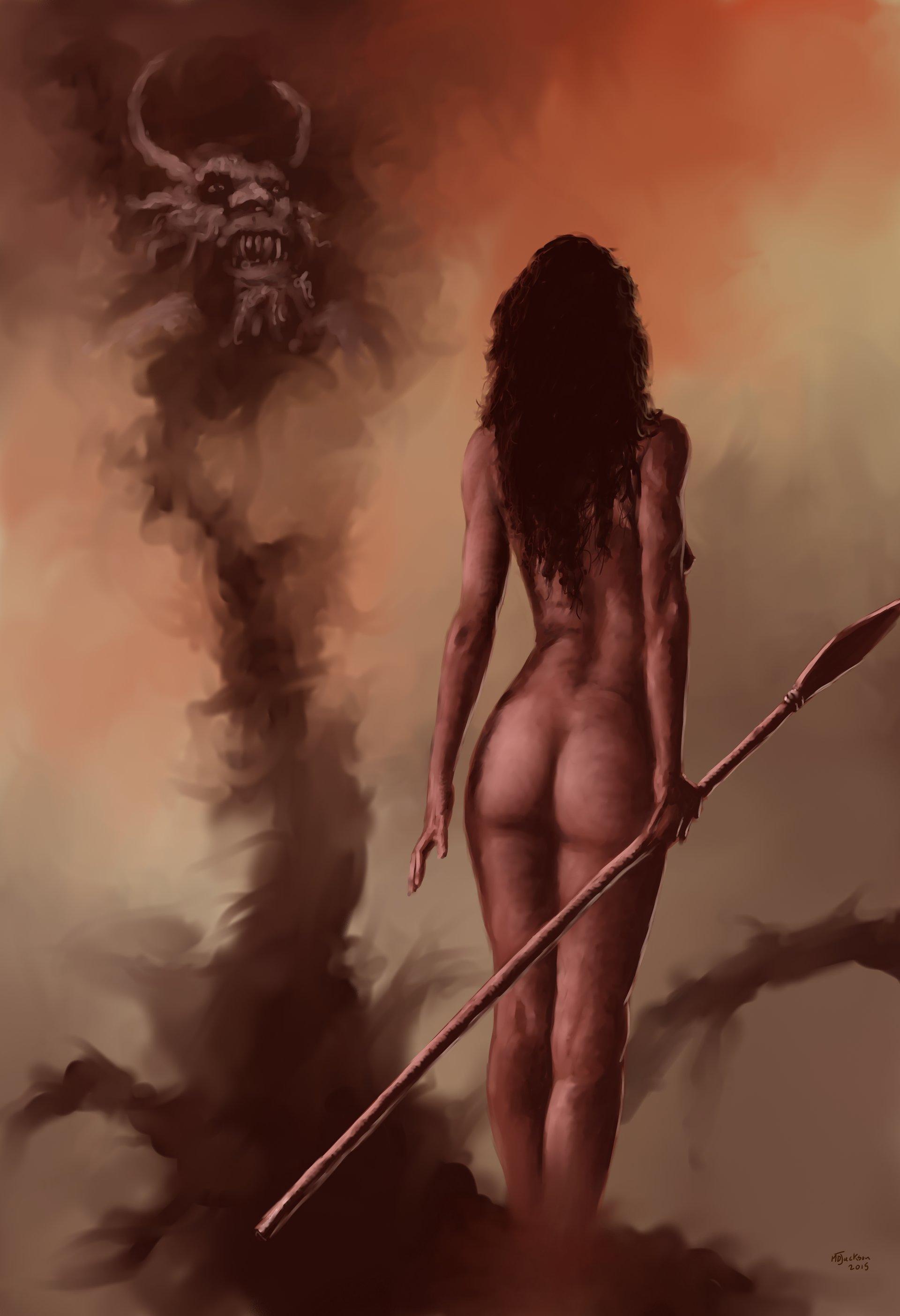 Md jackson cavegirl has her demons