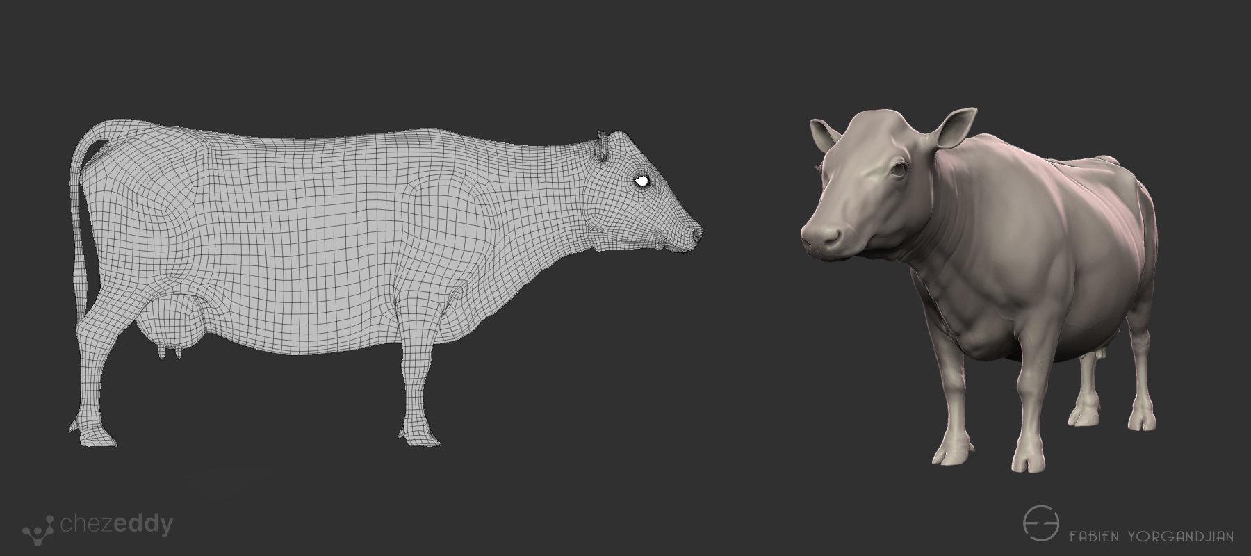 Fabien yorgandjian cow 02