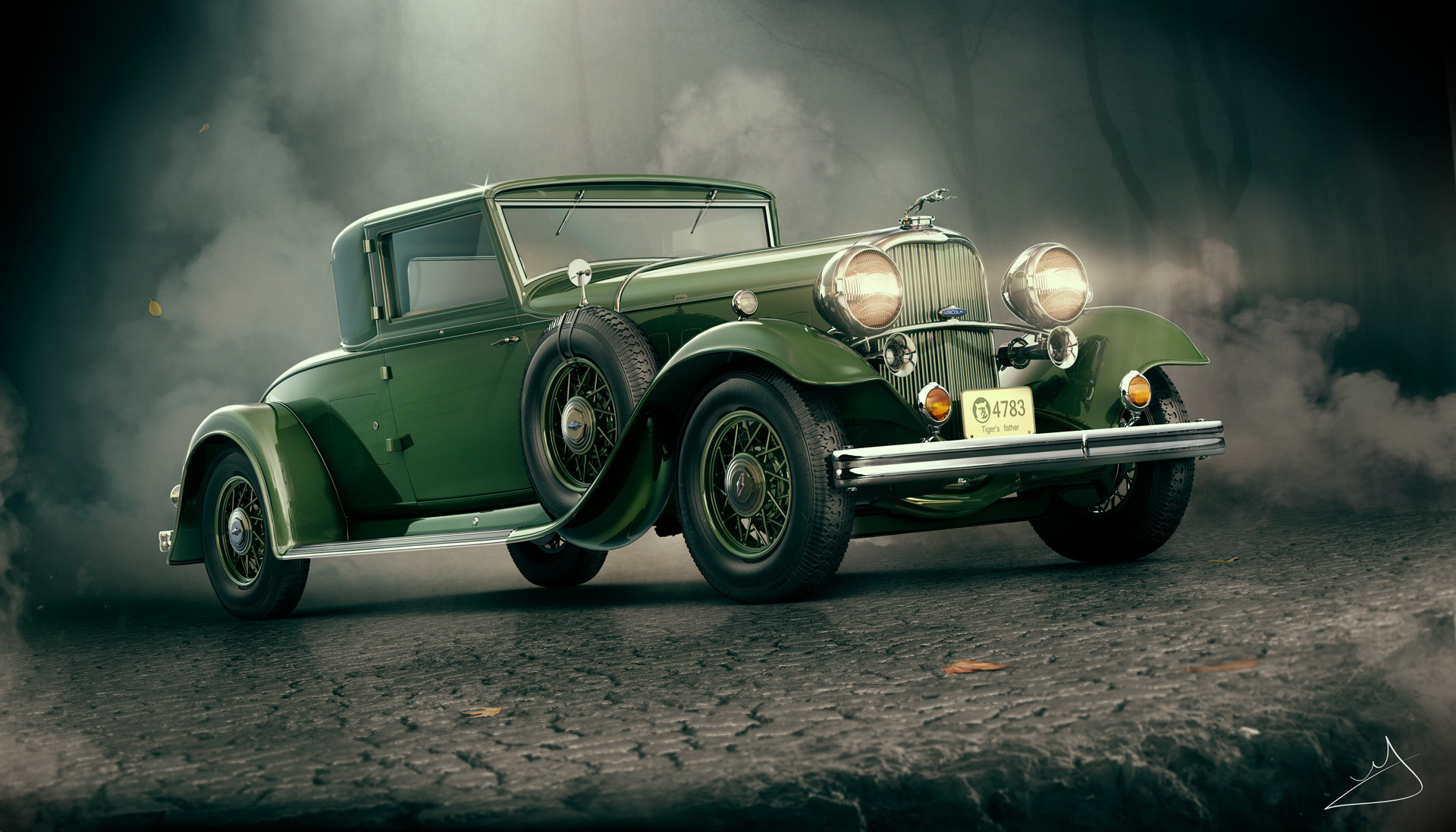 Alexandr novitskiy 1932 lincoln kb coupe 01