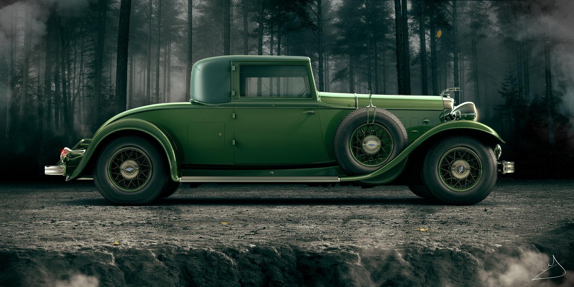 Alexandr novitskiy 1932 lincoln kb coupe 03