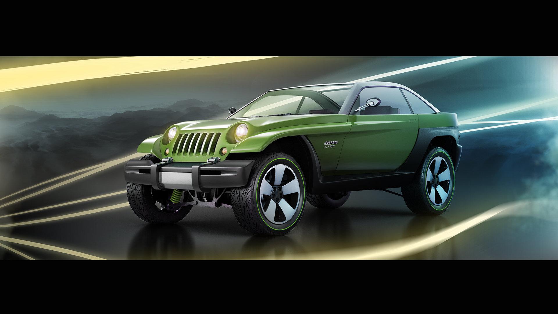 Alexandr novitskiy 1998 jeep jeepster concept style 01