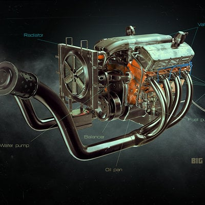 Alexandr novitskiy big block engine 01