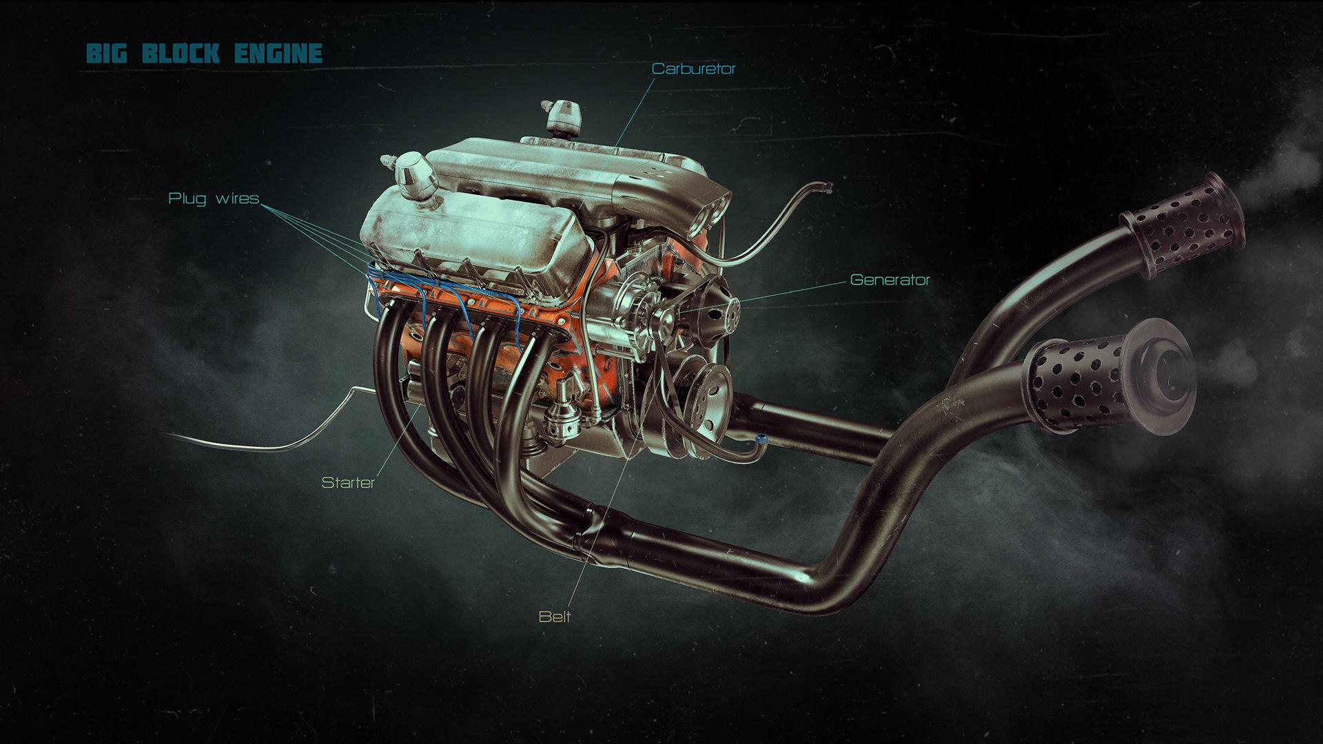 Alexandr novitskiy big block engine 02