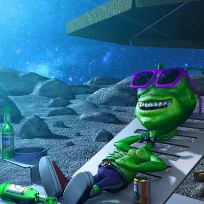 Marc mons alien taking a rest in the moon by marcmons007 d57x3dd