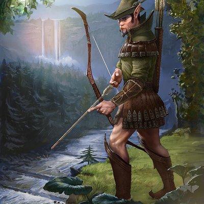 Matej kovacic elf the deer hunter by matej kovacic