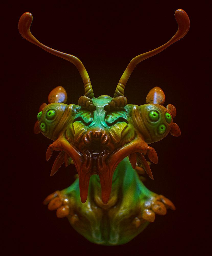 Mike robinson mantis 2
