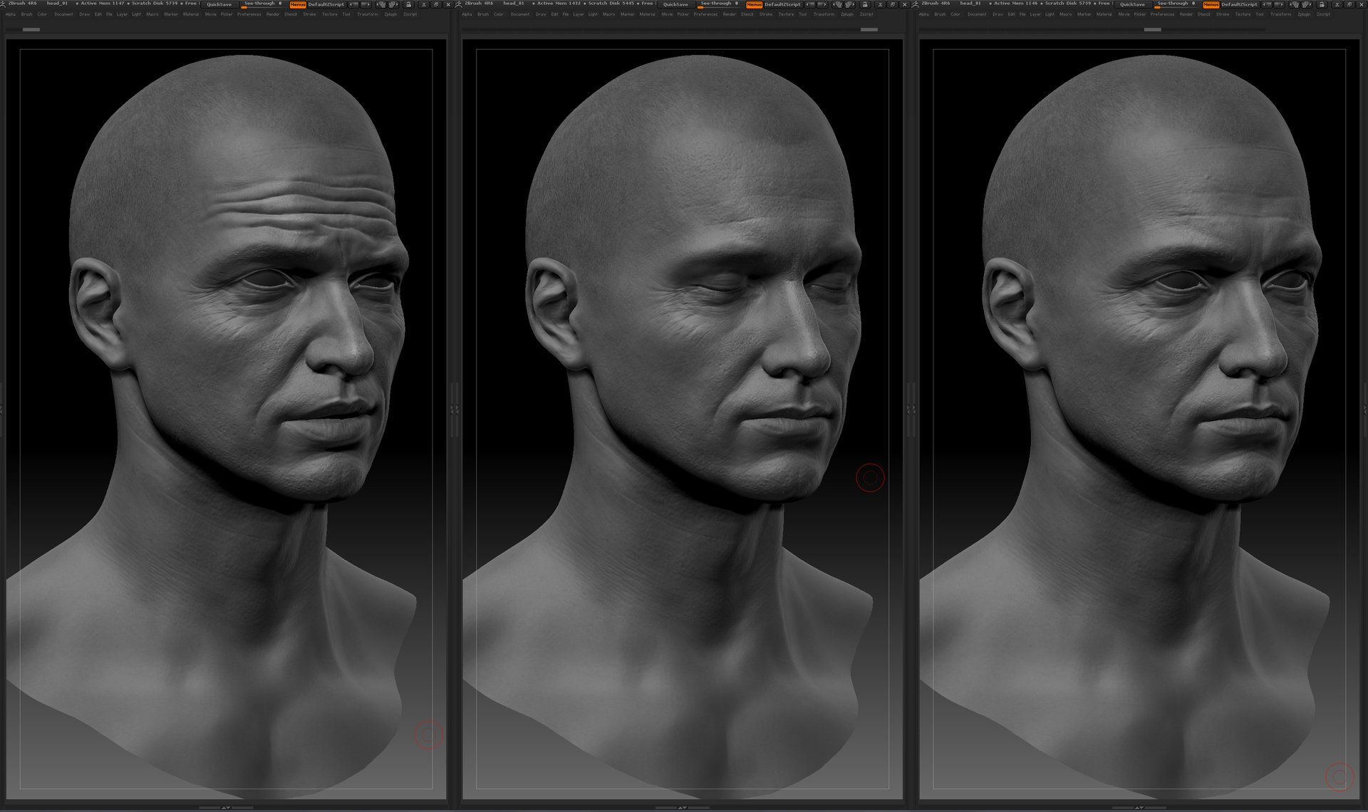 Ui joo moon head zbrush03
