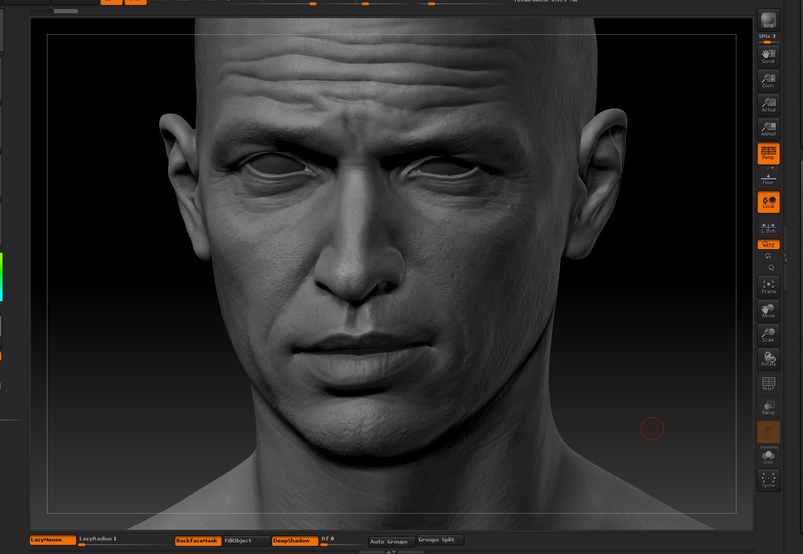 Ui joo moon head zbrush05