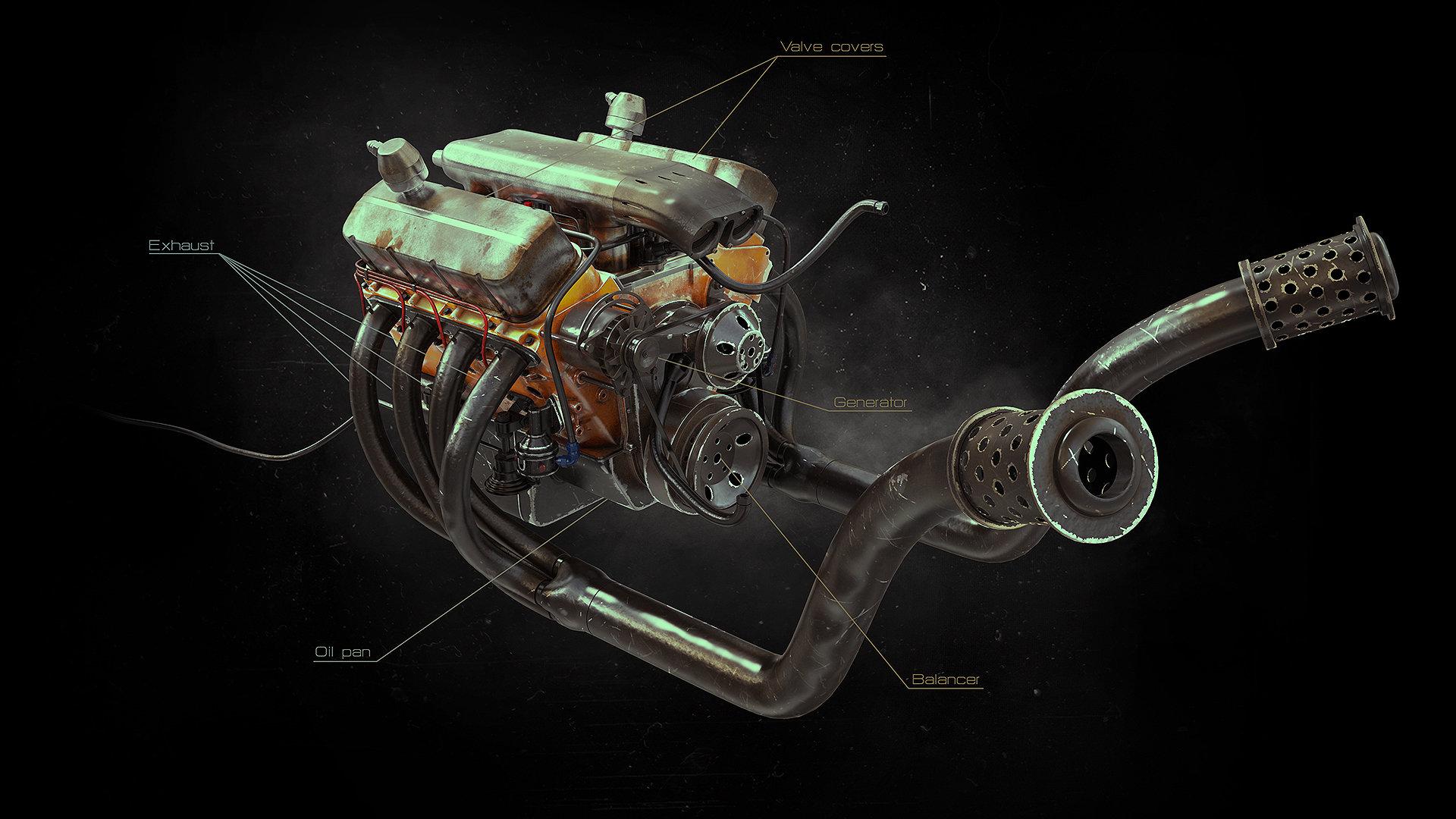 Alexandr novitskiy big block engine 04