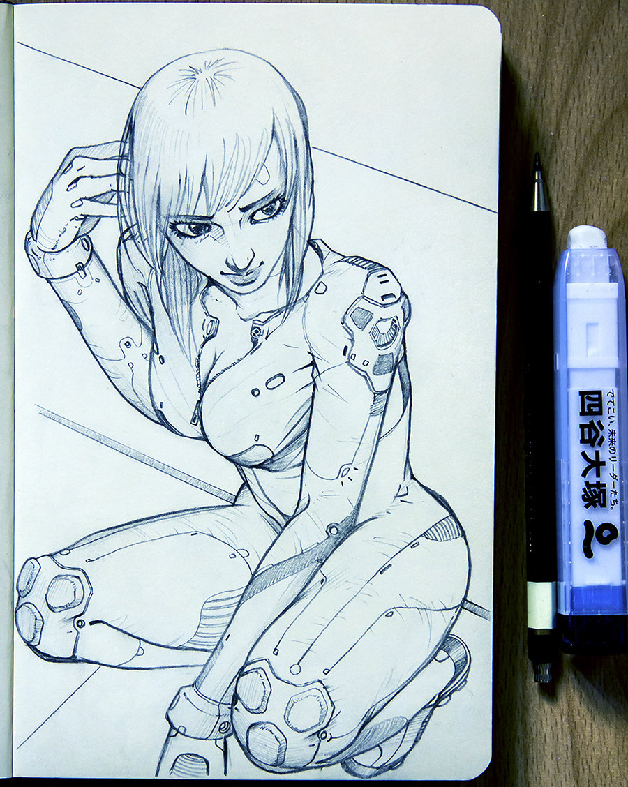 Lorenz hideyoshi ruwwe cyb girl pencil