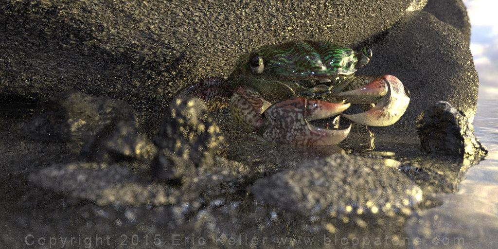Eric keller crab testrender 02