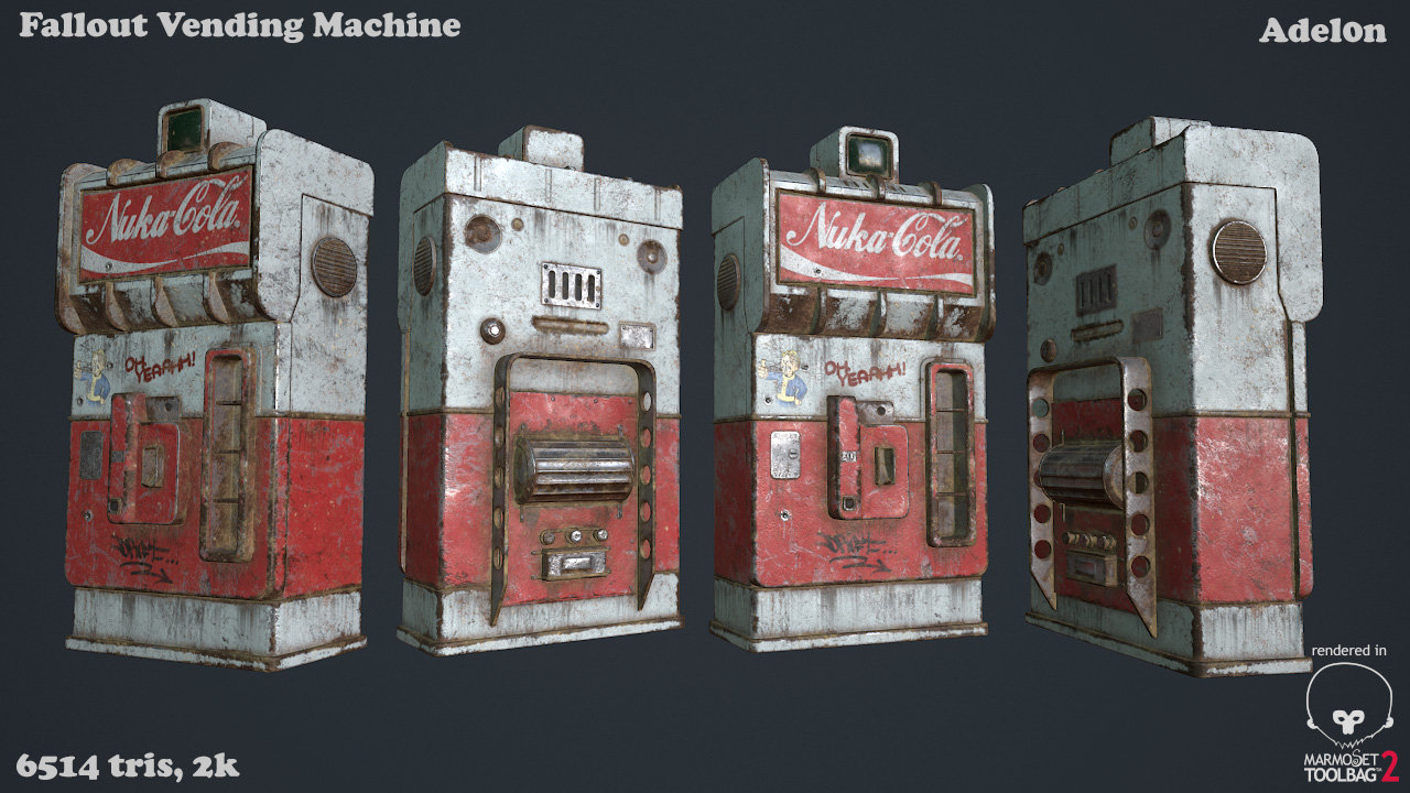 Vlad silchuk vending machine by adel0n
