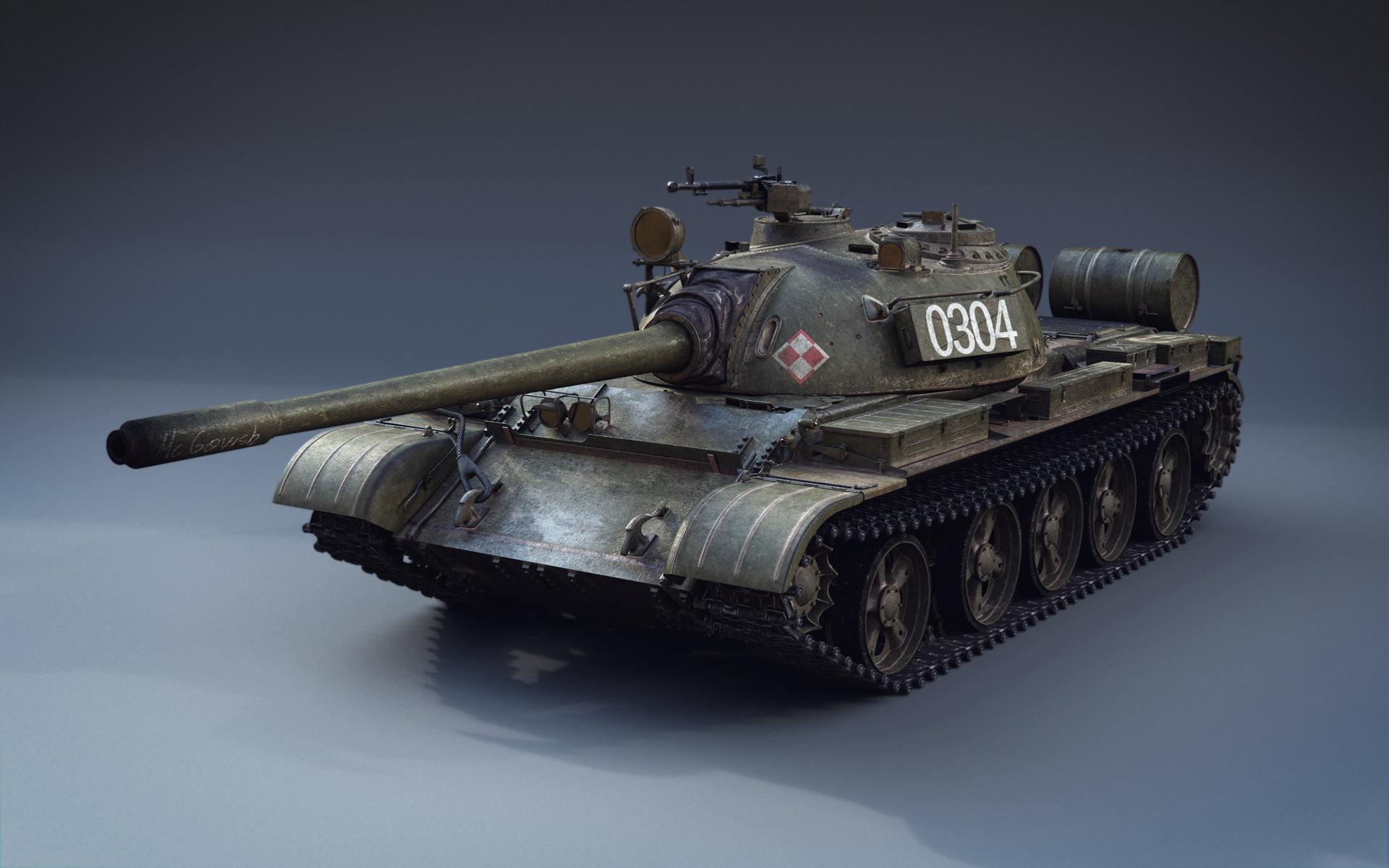 T 55 Tank