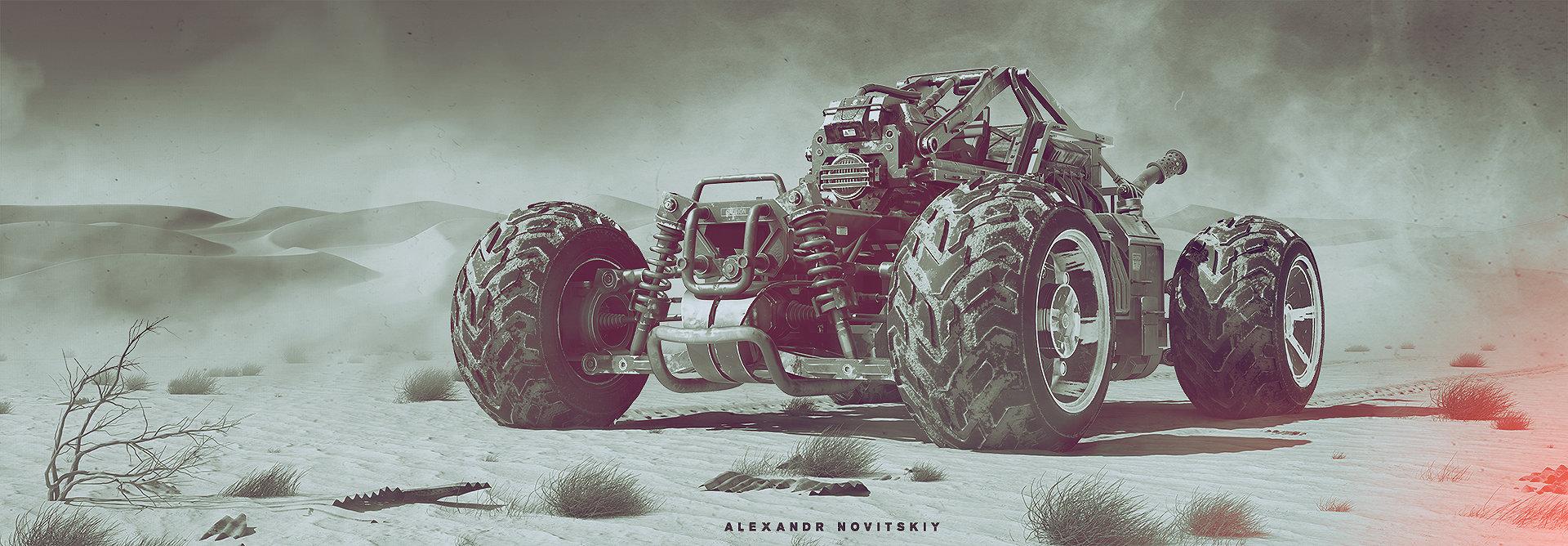 Alexandr novitskiy buggy desert 01 style
