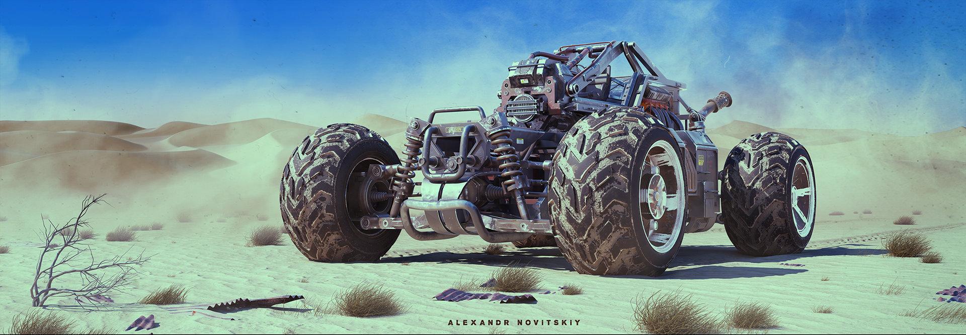 Alexandr novitskiy buggy desert 01