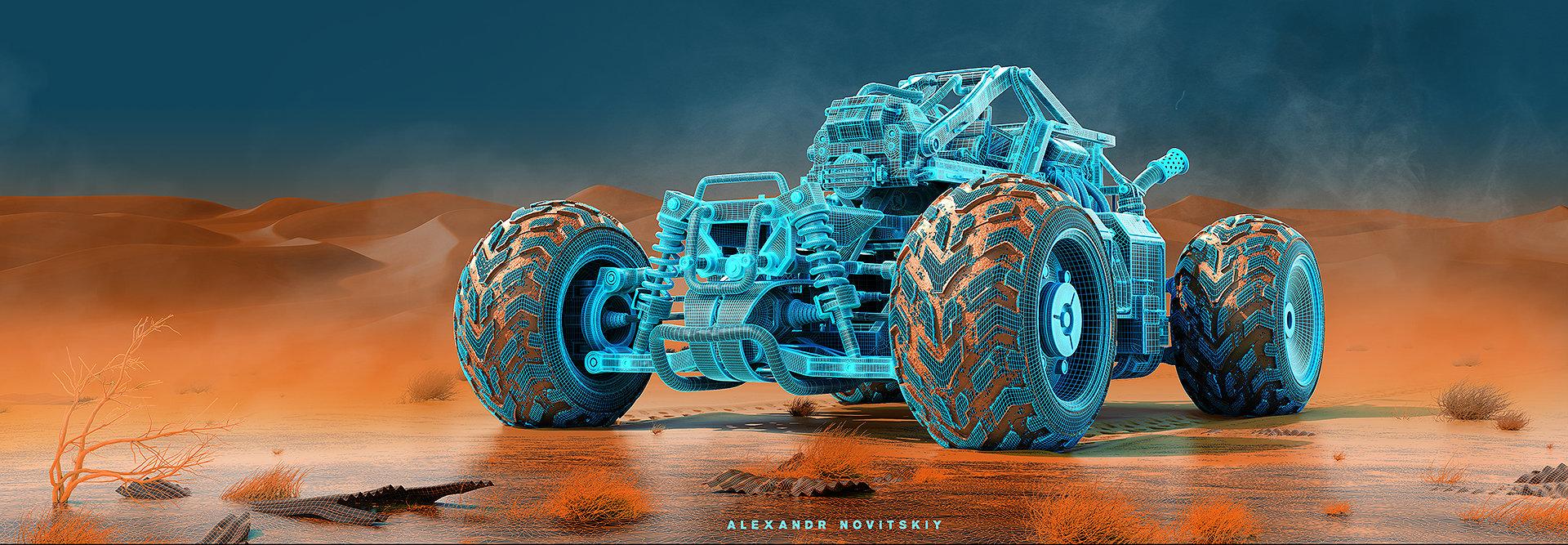 Alexandr novitskiy buggy desert 01 mesh
