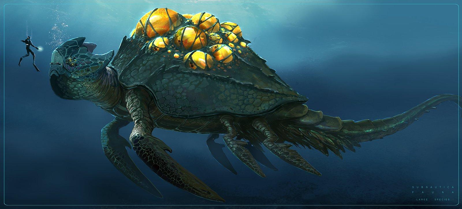 Pat presley deepcreatures turtle