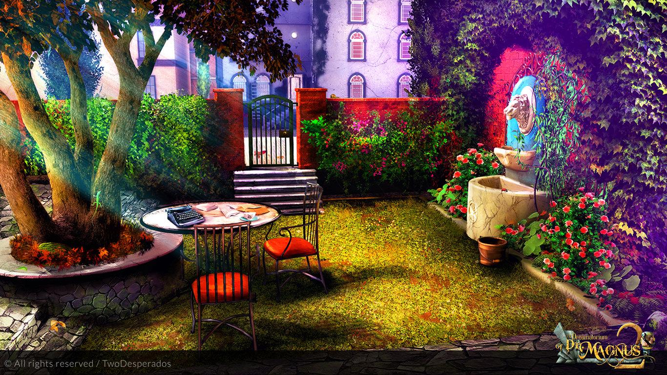 Milica todorovic house backyard