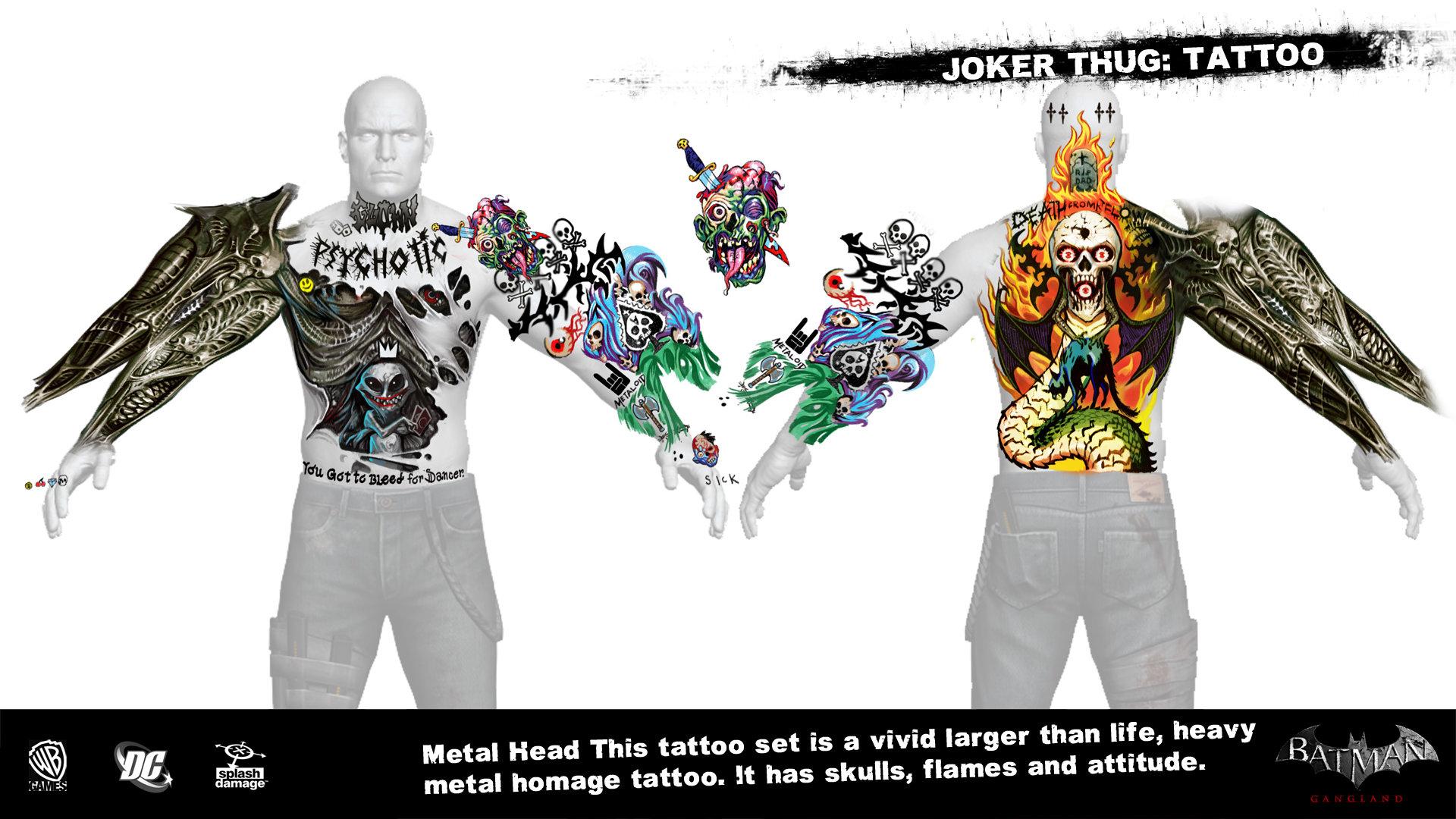 Manuel augusto dischinger moura splashdamage joker thug tattoo 3