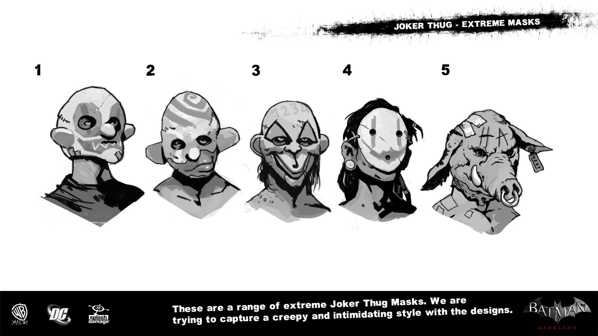 Manuel augusto dischinger moura splashdamage joker thug extreme masks