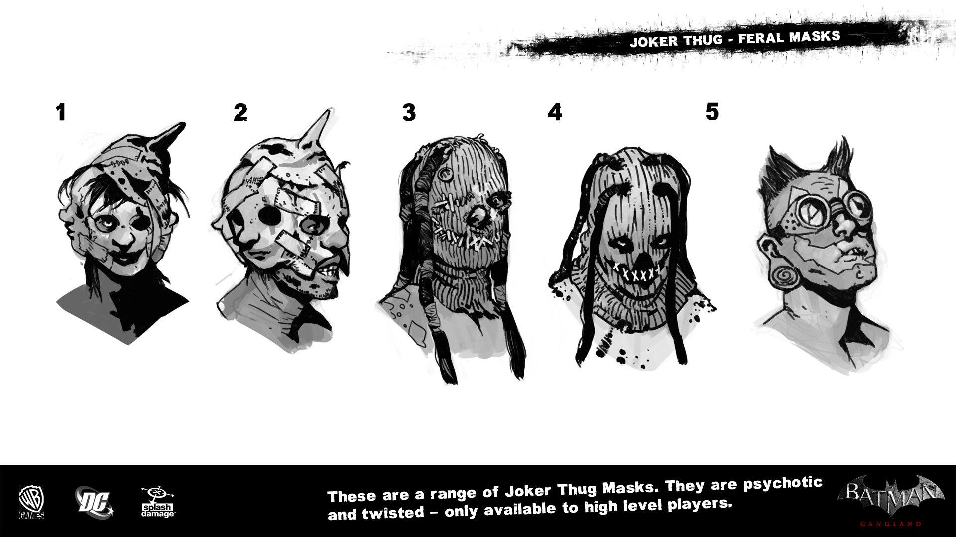 Manuel augusto dischinger moura splashdamage joker thug feral masks