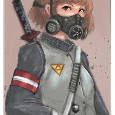 Ikhwan maulana gas mask 2